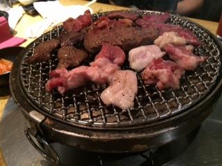焼き肉だ~。